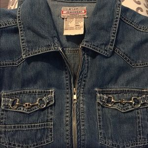 At Last Jackets & Blazers - Denim Jacket
