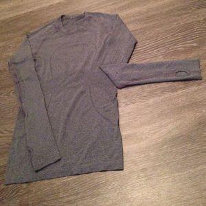 lululemon athletica Tops - lululemon Run: Swiftly Long Sleeve-Size 4-Black