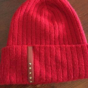 Prada Other - Prada ski hat sz small 2e088124bbc