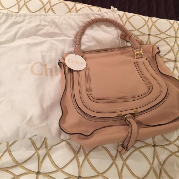 d61fd1262 Chloe Bags | Marcie Large In Blush Nude | Poshmark