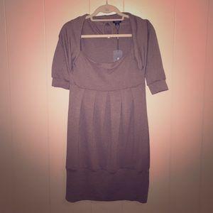Rhapsody Dresses & Skirts - Tan cocktail dress