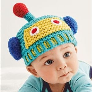 Other - Fall winter baby robot hat