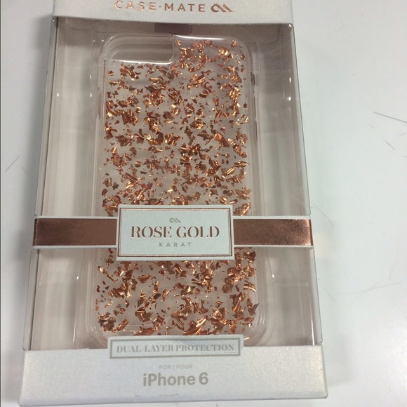 Michael Kors medium purse iPhone 6! Case-mate, Rose gold case!
