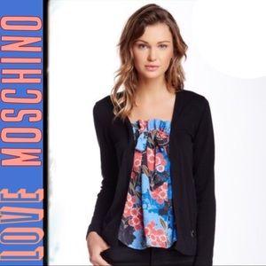 Love Moschino Tops - Love Moschino blouse insert cardi