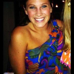 Trina Turk Printed Dress