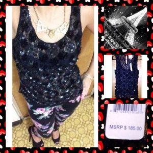 Romeo & Juliet Couture Tops - 🔴$185🆕 shirt for $31🔴Romeo & Juliet sequin top!