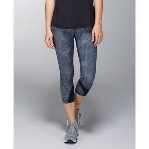 lululemon athletica Pants - Lululemon Run : Inspire Crop ll almost new grey