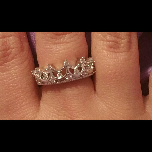 Jewelry | Real 925 Silver Ring So Cute Princess Crown ...