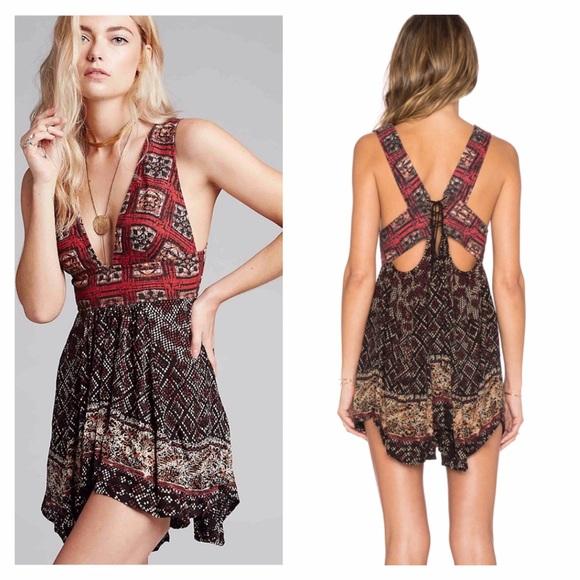 3a3f5046da9 Free People Dresses | Heat Wave Tunic Dress Top Tribal Print | Poshmark
