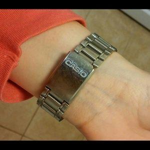 Casio Accessories - Casio Quartz Movement Chronograph Stainless Steel