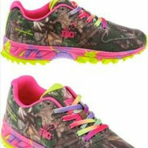 04b09f7e3835 RG Shoes - Womens camouflage camo shoes pink   green
