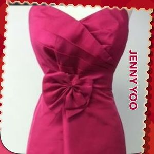 Jenny Yoo Pink special occasion Dress, Size 10 LN