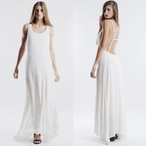 "X ""Rendezvous"" Backless Maxi Dress"