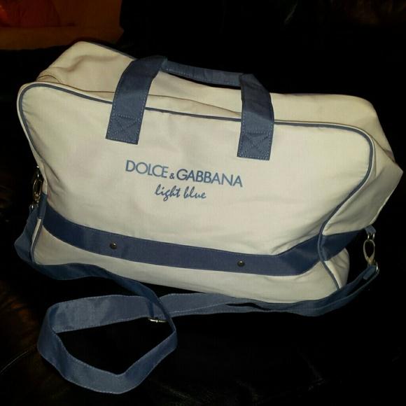 c5225ae1d199 Dolce   Gabbana Handbags - Light Blue Sport Bag