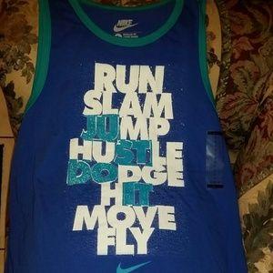 Nike tank shirt size large