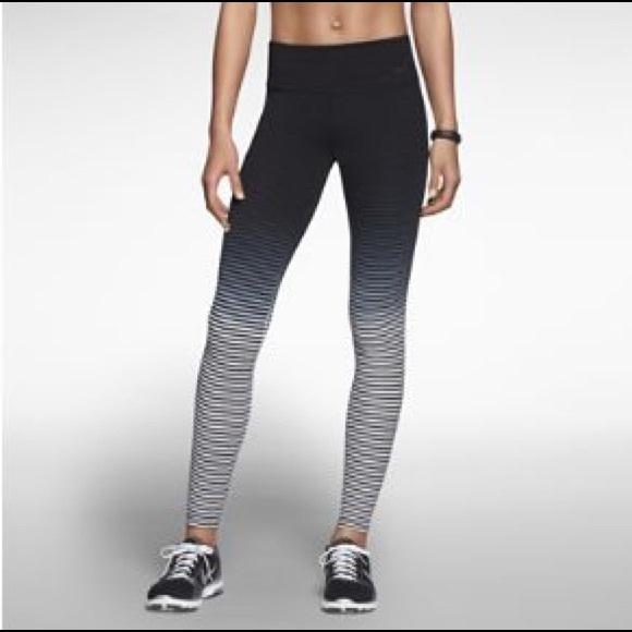 Legend 2.0 striped ombré training pants/tights