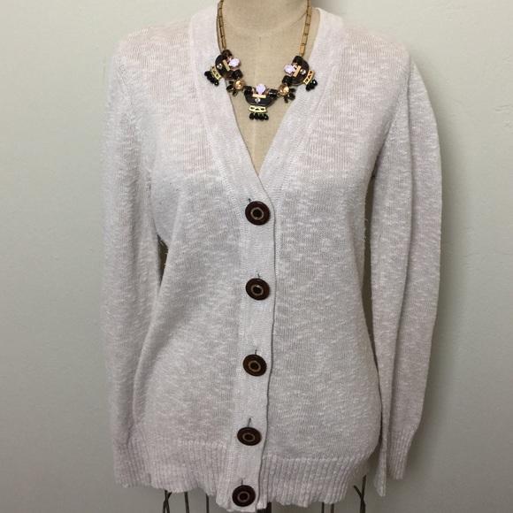 Gorgeous Tory Burch cotton linen cardigan. M 56272e117e7ef6c84202e92e dc318ba64