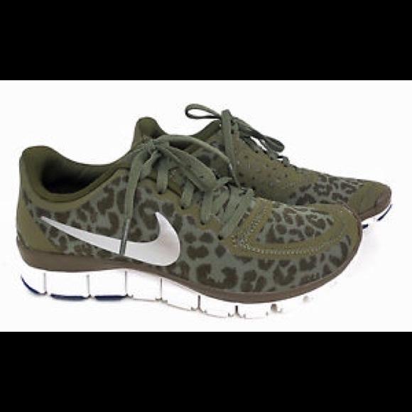 buy popular f4e4e 8e7e2 Nike free run olive leopard print. M 5627444c7eb29f689e02ec79