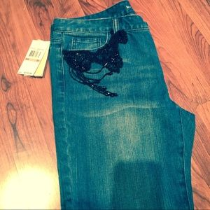 Michael Kors Jeans with Black Accents