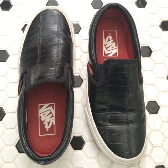 vans classic slip on vegan