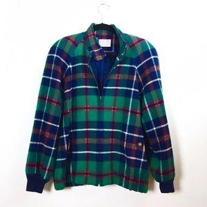 Pendleton Jackets & Blazers - Vintage Pendleton wool plaid bomber jacket.