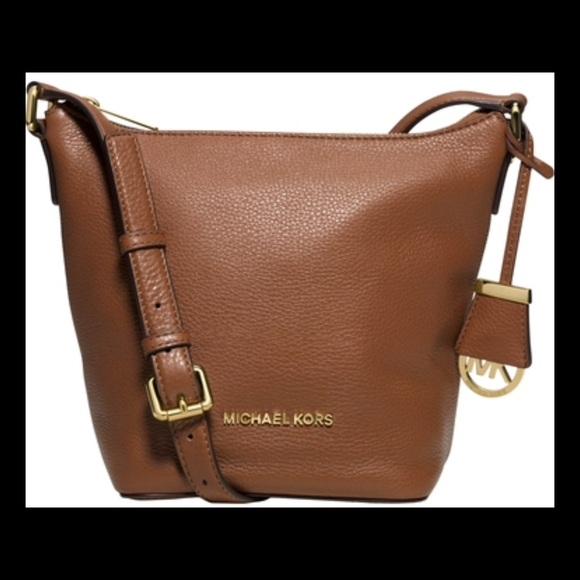 1d00cd1fb67036 Michael Kors Bags   Nwt Mk Bedford Small Leather Messenger Bag ...