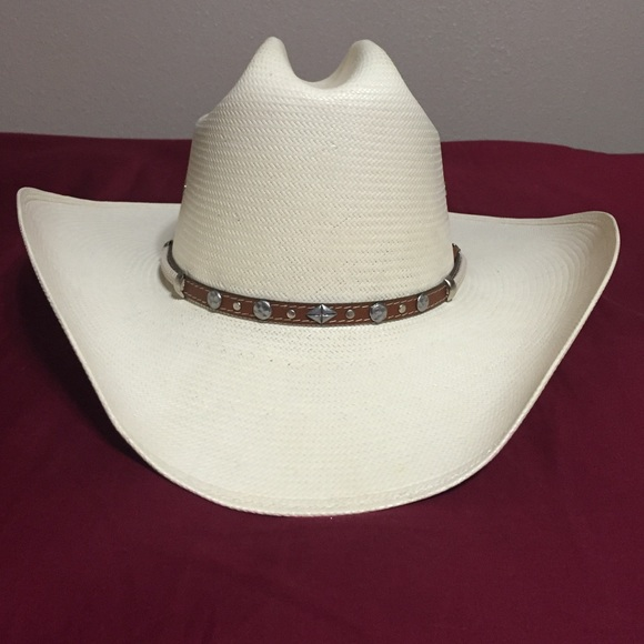 4a1b1ad913f Cavenders Accessories - Straw Stetson 8X cowboy hat