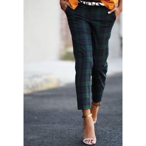 LOFT - Petite Marisa Plaid Ankle Pants, Sz 0 Petite from Rachel's ...