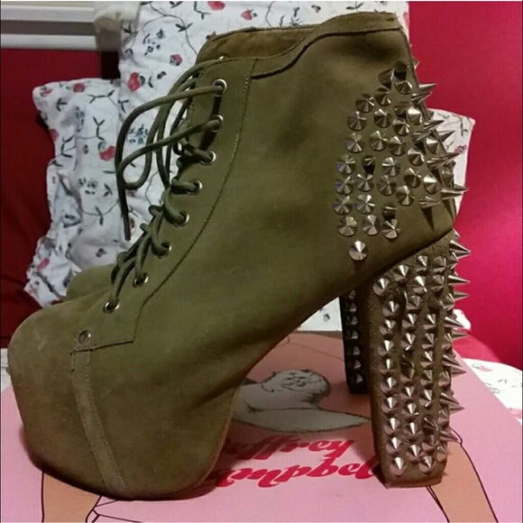 57 off jeffrey campbell shoes jeffrey campbell olive spike litas size 8 from nicole 39 s closet - Jeffrey campbell lita spike ...