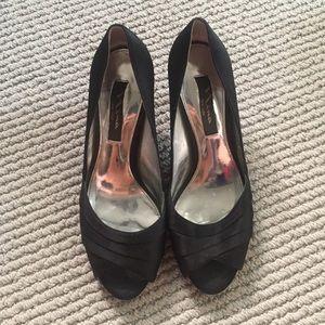 Kitten Peep Toe Heels
