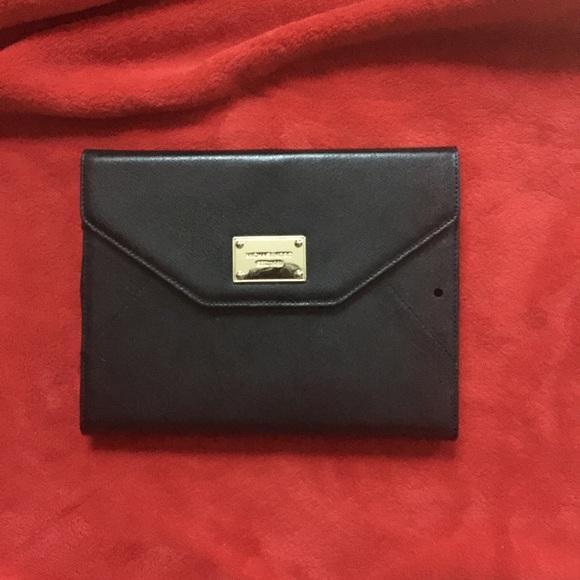 michael kors accessories ipad air case black gold poshmark rh poshmark com