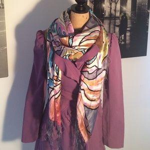 Silk Ed Hardy scarf