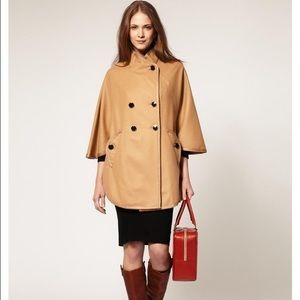 b004b3e6d58c French Connection Jackets   Coats - French Connection Military Camel Cape