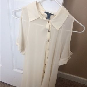 Creme Top From FOREVER 21 !!!