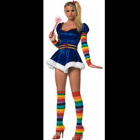 Rainbow brite sexy costume