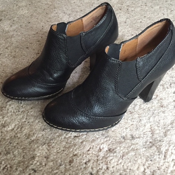 79% off Sofft Shoes - Sofft black leather booties from
