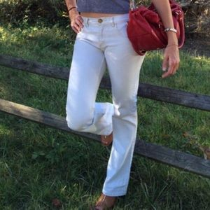 Marc Jacob bootcut hipster in whitewash