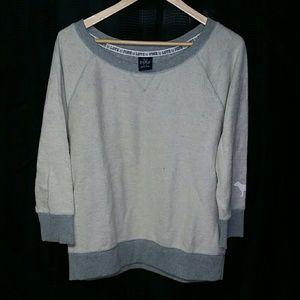 Victoria's Secret Pink loose grey sweatshirt