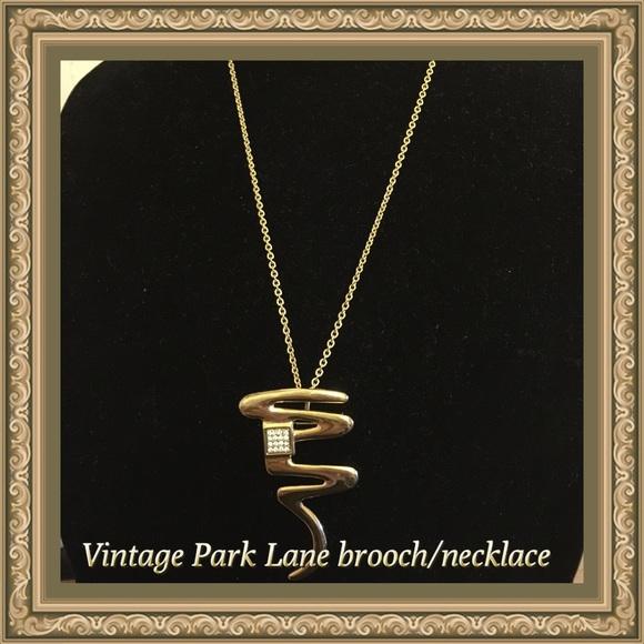 Vintage Park: Vintage Park Lane Brooch/necklace From Diana's