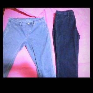 High waist UNIQLO jeggings ankle cut