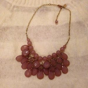 ❌Bundled❌SALERose Pink Bubble Bib Necklace