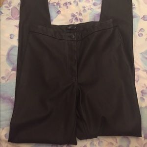 Topshop high waisted pleather pants size 8