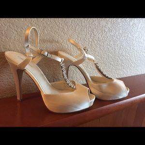 Calvin Klein T-Strap Heels *WEDDING*