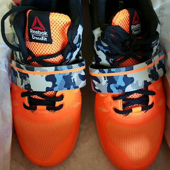 reebok lifters 2.0 orange