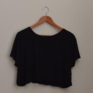 Soft plain black shirt