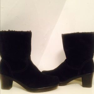 Authentic Clark ankle booties