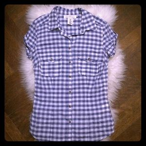 H&M Plaid Button Down Shirt