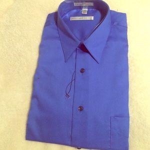 Geoffrey Beene Other - Man's blue  Long sleeves dress shirt