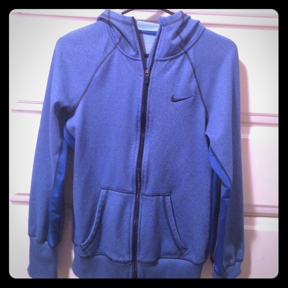 50% Off Nike Jackets U0026 Blazers - Blue Nike Therma-fit Zip Hoodie. From Shelbyu0026#39;s Closet On Poshmark