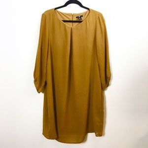 H&M Dresses & Skirts - H&M mustard shift dress.